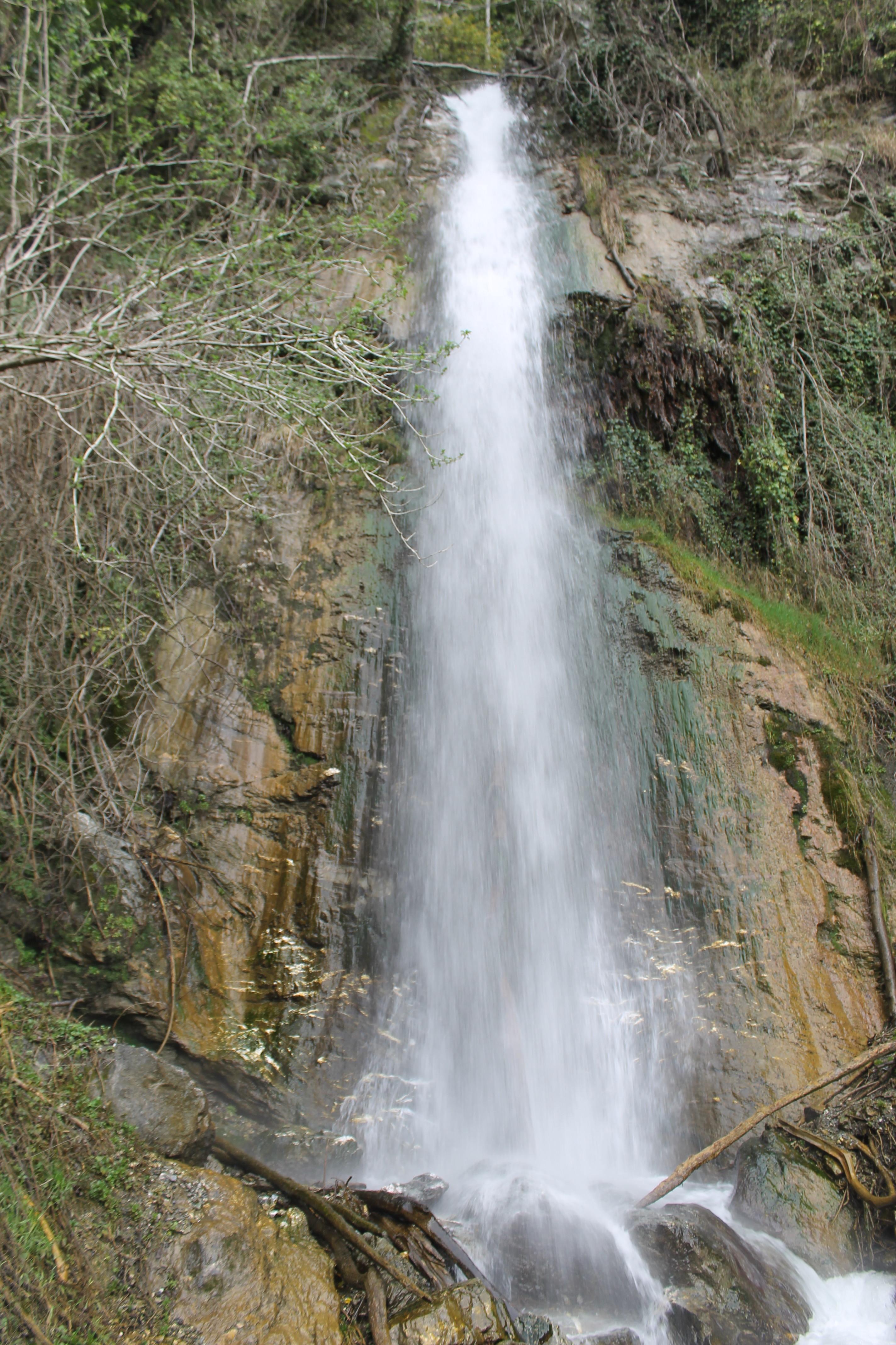 La cascata della Tiglia
