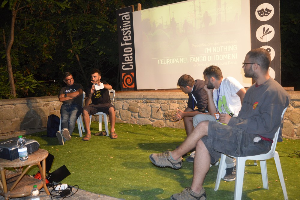 Cleto Festival VI – I'M NOTHING. L'europa nel fango di Idomeni.