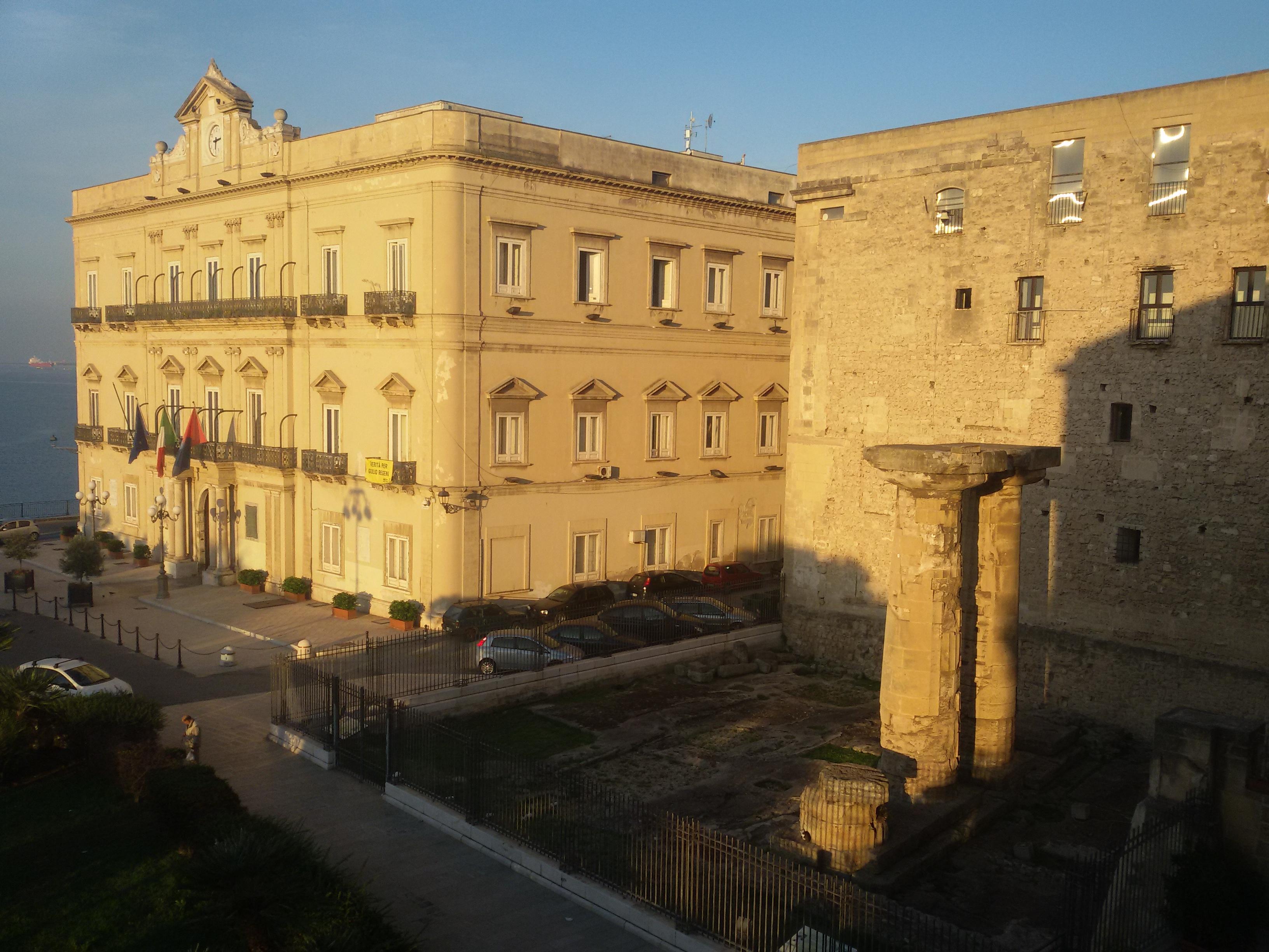Taranto bella e amara. Diario di un viaggio. Giorno 1