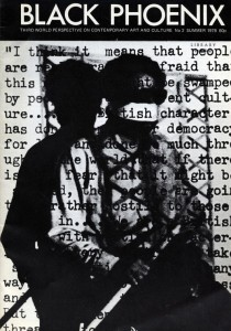 Fig.2 Rasheed Araeen, Paki Bastard (Portrait of the Artist as a Black Person), 1977