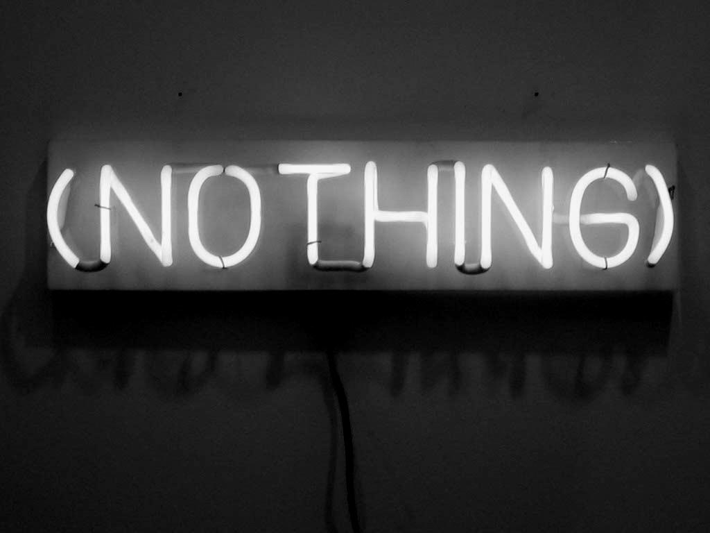 Non c'è più niente!