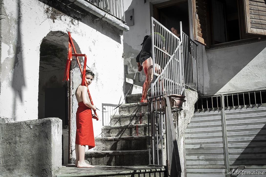 """La settimana santa e il rito dei """"Vattienti"""" a Nocera Terinese"""