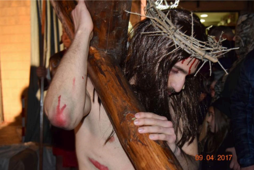 """A Nocera la IV edizione de """"La passione di Cristo"""" dell'associazione """"Lavori di Corsa"""""""