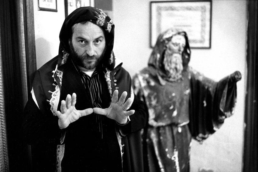 Foto di Carlo Paone, Il Mago di Los Angles (Satriano), 1989.