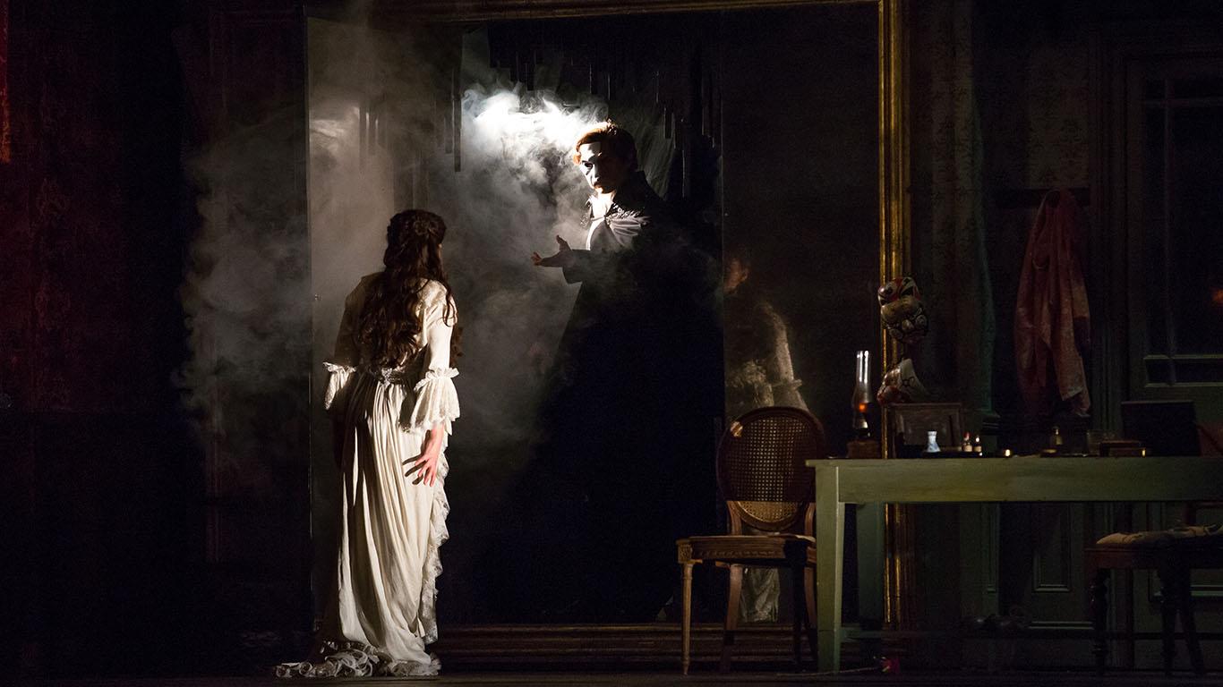 """""""Christine Daaè"""" e il suo Angelo della Musica."""