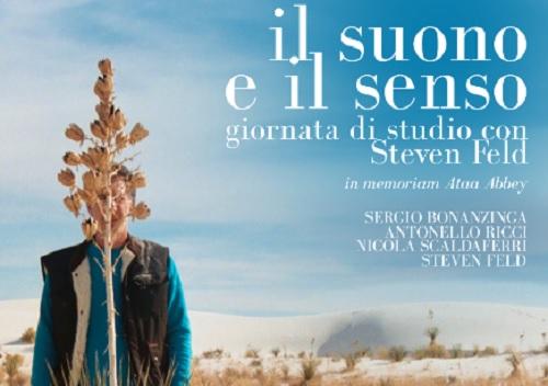 """""""Il suono e il senso"""", il 2 novembre giornata di studio con """"Steven Feld"""" all'Unical"""