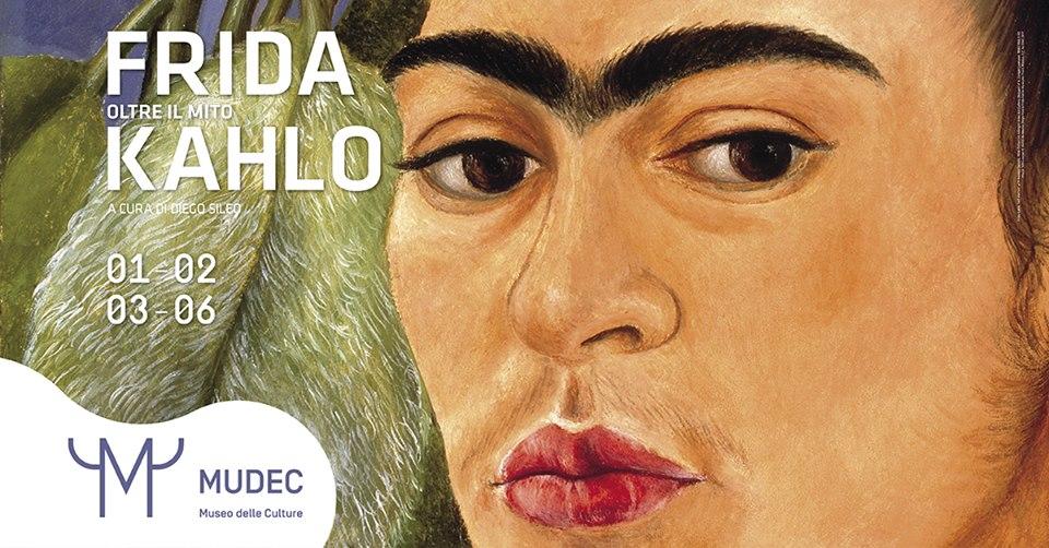 """""""Frida Kahlo oltre il mito"""" giovedi 1 febbraio l' inaugurazione al Mudec di Milano"""