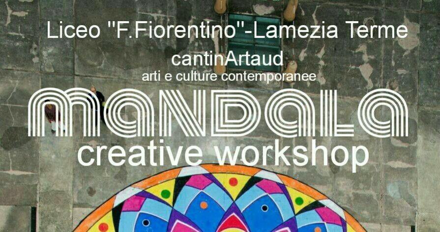 """""""Mandala Creative Workshop"""", 1, 2 e 3 febbraio laboratorio con Gianluca Salamone al Liceo F. Fiorentino"""