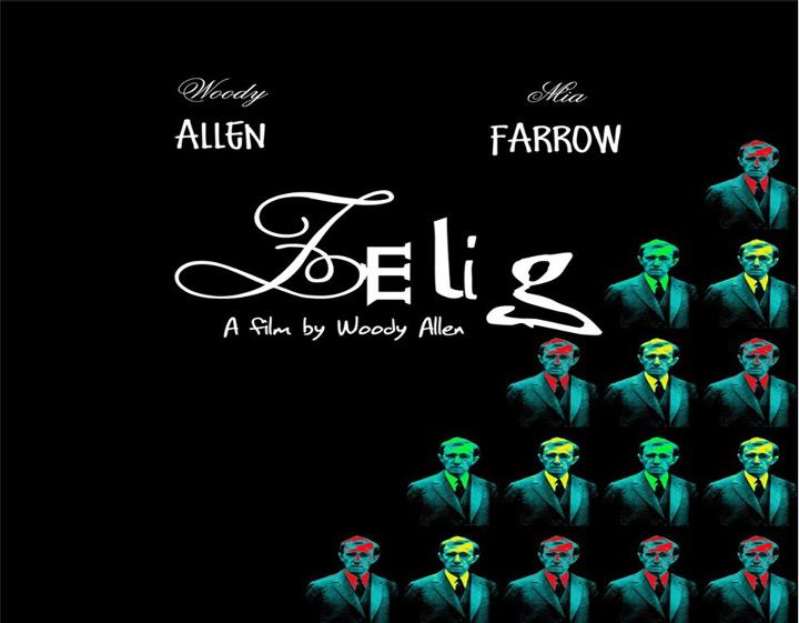 """ZELIG"" film di Woody Allen, domenica 25 all' Auditorium Pitagora"
