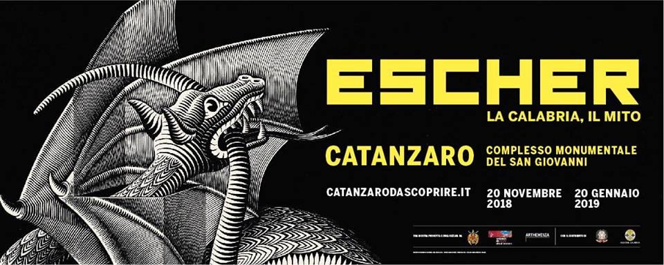 """""""Escher. La Calabria, il mito"""" dal 20 novembre al Complesso San Giovanni Catanzaro"""