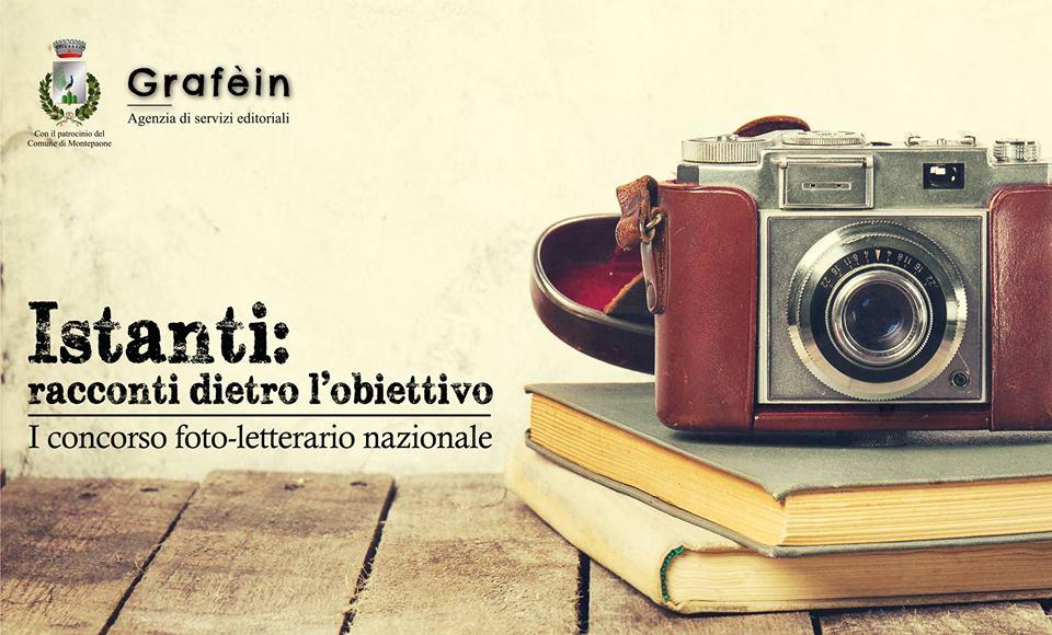 """""""Istanti"""", il primo concorso foto – letterario di Grafèin che scade il 31 gennaio"""