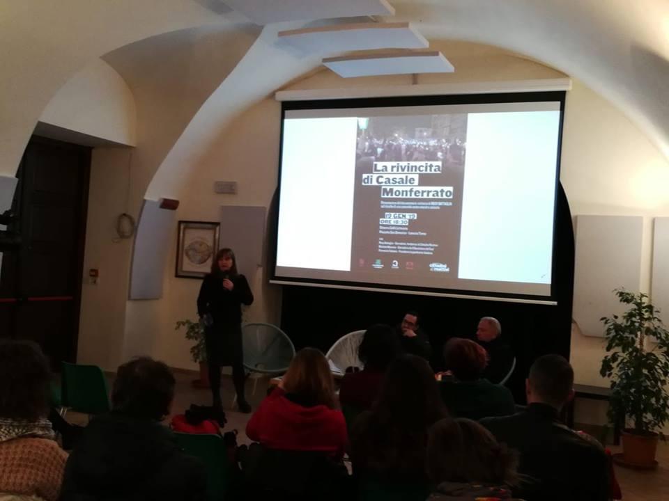 """Presentata docu – inchiesta """"La rivincita di Casale Monferrato"""" di Rosy Battaglia, """"Perché in Calabria non si prova a combattere""""?"""